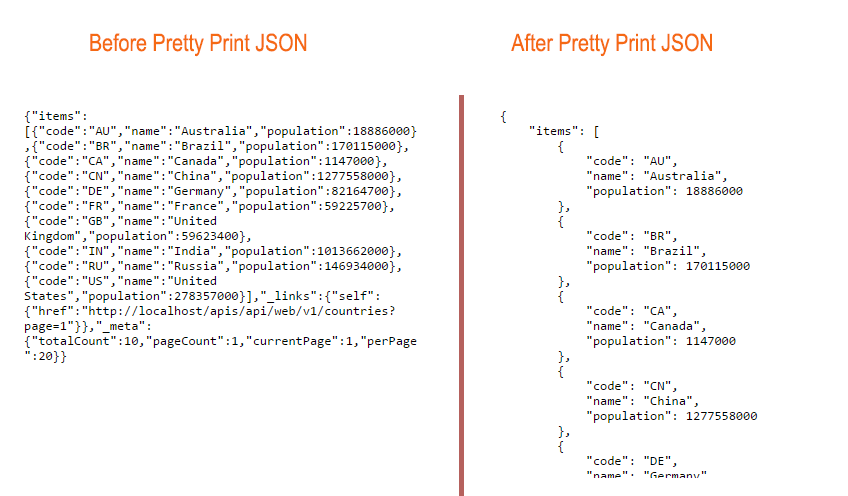 solved] Pretty Print In JSON RESTfull Output ? - General