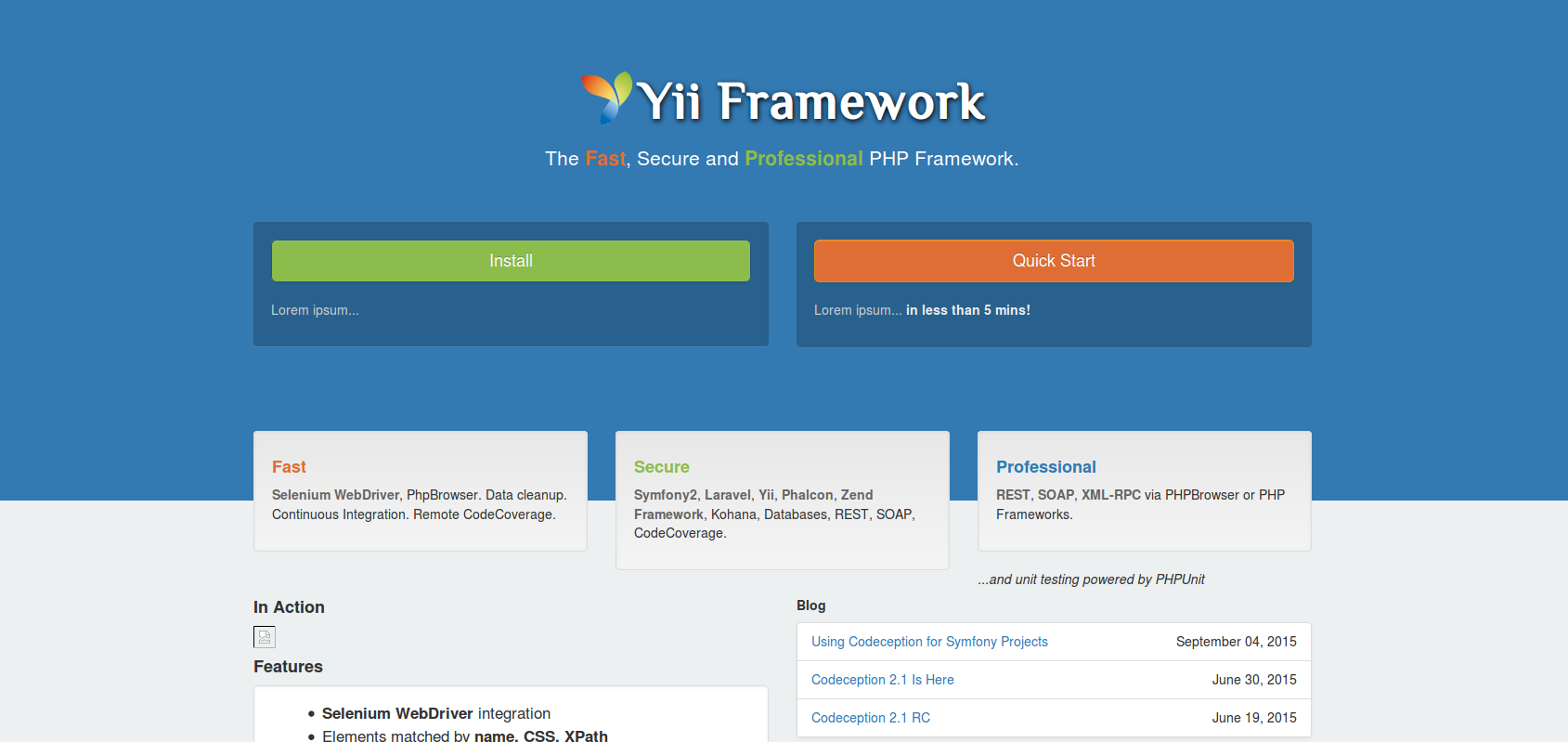 New face - Yii Project Site - Yii Framework Forum